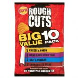 Tayto Rough Cuts Assorted 10 Pack